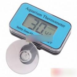 Akvárium Merülő hőmérő LCD digitális