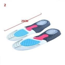 2 - 1 pár szilikon gél lábápolás talpbetétek ütéselnyelő párna férfiak és nők számára
