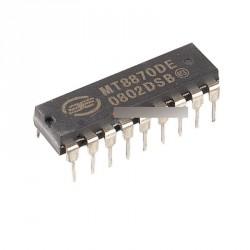 2db MT8870 alacsony fogyasztású DTMF dekóder IC