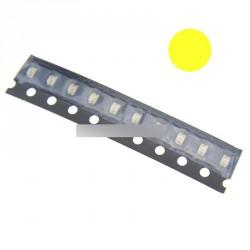 50db SMD SMT 0805 Super fényes sárga LED lámpa