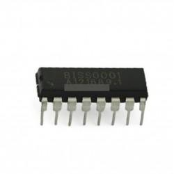 2db BISS0001 DIP16 DIP-16 ETC infravörös  IC DIP