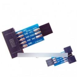 2db 10 Pin - Standard 6 Pin Adapter AVRISP USBASP