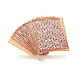 2db 5 x 7 cm DIY Papír PCB FR4 prototípus pcb
