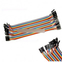 40P szín DuPont 2.54mm 1P -  40 root Arduino