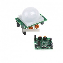 IR PIR mozgásérzékelő modul HC-SR501