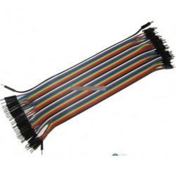 40 db dupont jumper kábel 20 cm 2.54 mm Arduino
