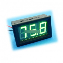 Zöld LED Meter Mini digitális voltmérő DC 0 -99.9V