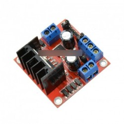 25W L298N Dual H-híd DC Léptetőmotor L298N  modul
