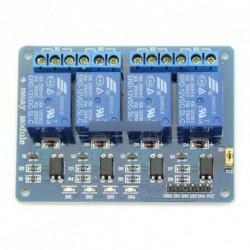 DC 12V 4-csatornás relé modul optocsatoló Arduino