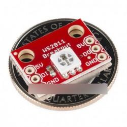 10db WS2812 RGB 5050 LED kitörési modulja Arduino