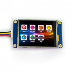 """2.4"""" Nextion kijelző modul Raspberry Pi Arduino"""