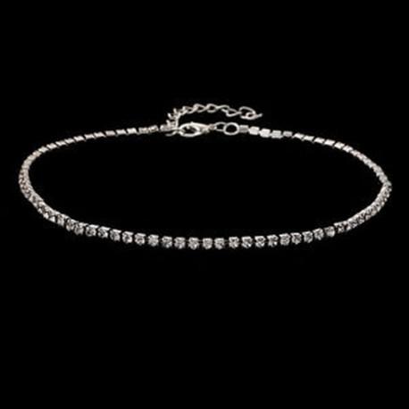 b3ff0008f ezüst - Kristály nyakörv karkötő nyaklánc karkötő medál ékszer nők számára  lp
