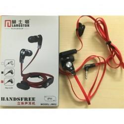 JM02 fülbe sztereó fülhallgató mikrofonnal 1db