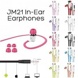 JM21 sztereó fülhallgató 3,5 mm Super Bass 1db