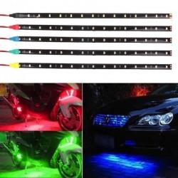 15 LED-es vízálló rugalmas Fény Autó Motor  30cm