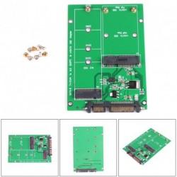 1db NGFF M.2 B + M gomb vagy mSATA SSD 3 adapter