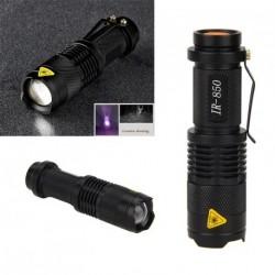 850nm IR lámpa 5W zoom infravörös zseblámpa