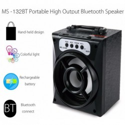Hordozható Bluetooth hangszóró USB / T / FM rádió