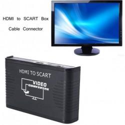 HDMI SCART Box kábelcsatlakozó adapter átalakító
