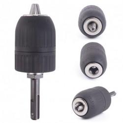 2-13mm Keyless Impact fúró eszköz adapterrel lock