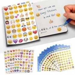 192 Smile Face Matrica Pack iPhone Android Laptop