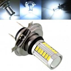 H4 / H7 / 9005/9006 33SMD LED autós fényszóró izzó nappali menetlámpa fehér motorkerékpár ködlámpa
