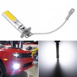 1db COB LED világos Xenon fehér 6000K H3 autó automatikus ködlámpa lámpa izzó 12V