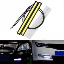 1db 17CM autó COB LED fények DRL ködlámpa Vízálló DC12V