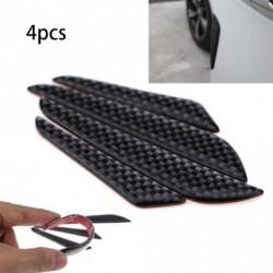 4db Szénszálas autó Door Edge Guard Strip karcvédő ütközés