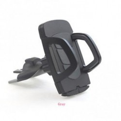 Szürke - CD nyílás mobiltelefon tartó az autóban Universal állvány bölcső Mount GPS iPhone