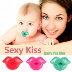 1x Aranyos baba kisgyermek csecsemő cumi csók alak