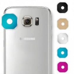 Luxus fém kamera üveglencse védő fedél tok Samsung Galaxy S6 S6Edge