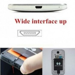 Tartozékok Mobile Qi vezeték nélküli töltővevő Android Micro-USB-hez