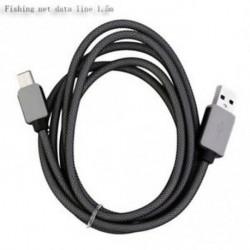 1.5m - Horgászat Net Line Micro USB Type-C adatkábel Gyors töltés Male to Male