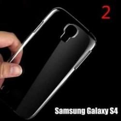 Telefon hátlap burkolat Clear Crystal áttetsző kemény műanyag Samsung modellekhez