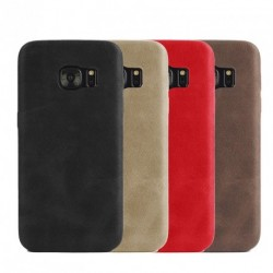 Luxus Ultravékony PU bőr bőr kemény hátlap tok Samsung Galaxy S7 több szín 1 db