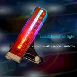 32 LED-es  kerékpár küllő kerék fényjelzés A09