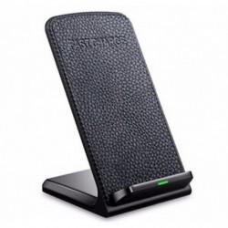 Samsung S6 - Qi gyors vezeték nélküli töltő iPhone X 8 Samsung S8 töltőállvány hordozható pad dokk