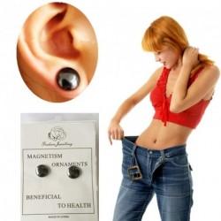 Fogyókúrás  Fülbevaló stimuláló akupunktúrása Mágneses Terápia