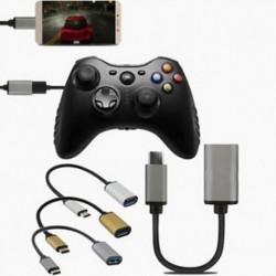 USB-C 3.1 Típus C Male to USB 3.0 adapter OTG Data Sync töltő kábel OTG kábel