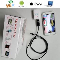Legújabb  5M Wifi kamera endoszkóp LED USB mikroszkóp Android / iOS okostelefonnal / tablettel
