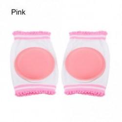 Rózsaszín - Babys pamut légáteresztő szivacs Gyermek térdvédő védőkörút