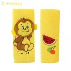 2-majom - 1 pár Állatemelő övtáskák Babakocsi vállvédő párna Autós biztonság