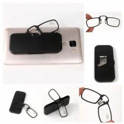 1x fekete keretes olvasószemüveg tokkal több dioptriában