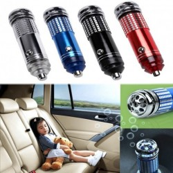 Mini Autó 12V Fresh Air ionos légtisztító Oxygen Ózon Ionizátor Cleaner Protable BMW SUV