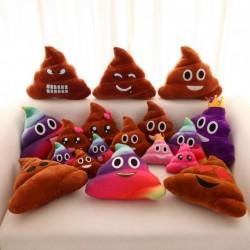 1x Kreatív aranyos Emoji Pou poo kaki Párna dekoráció
