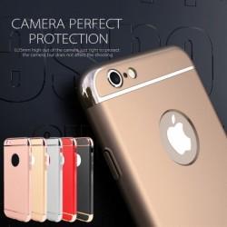 1x Luxus Ultra Slim 3 az 1-ben Kemény teljes védőburkolat műanyag burkolatú PC + TPU tok iPhone