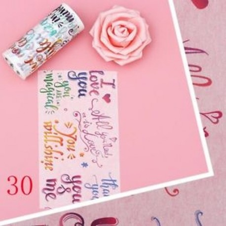 30 (10cmX5m) - 9 / 10cm * 5m Vintage térkép postahivatali virág Élet washi szalagos dekoráció scrapbooking