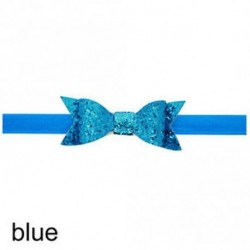 Baba lány Shiny Sequined Hair Band Bowknot fejpánt
