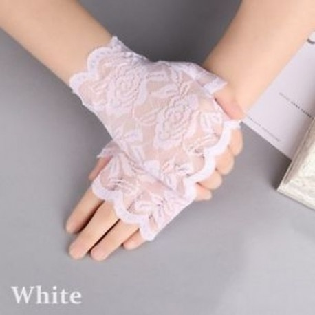 84c6eeac6e fehér - Szexi női női menyasszonyi esküvői ruhák öltözött csipke ujjatlan  kesztyű ujjatlan párt